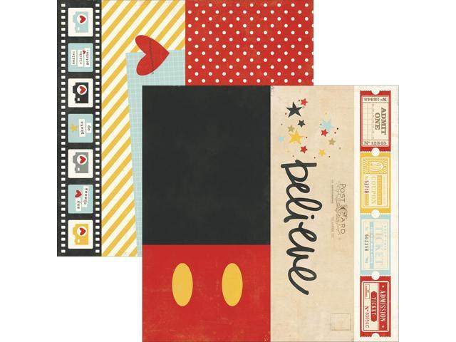 Say Cheese Ii Double-Sided Elements Cardstock 12
