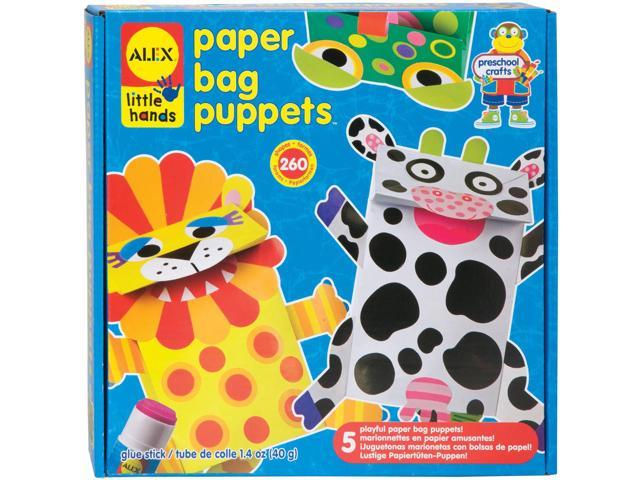 Paper Bag Puppets Kit-