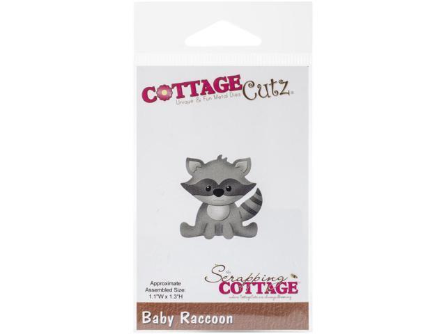 Cottagecutz Die-Baby Raccoon 1.1