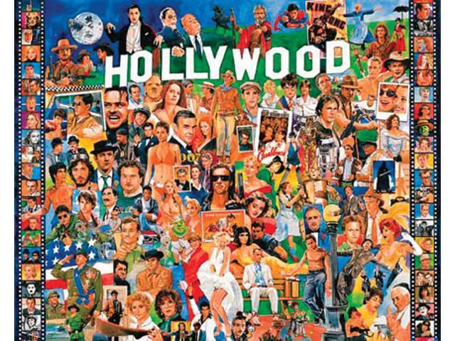 "Ultimate Trivia Collection Jigsaw Puzzle 1000 Pieces 24""X30""-Hollywood"