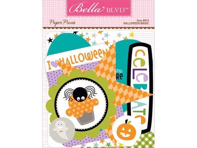 Halloween Magic Paper Pieces Cardstock Die-Cuts-