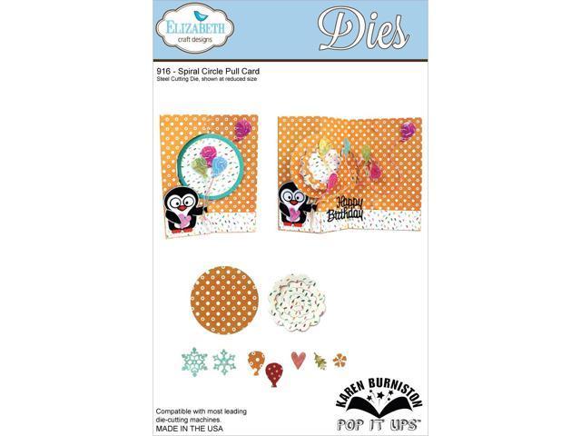 Elizabeth Craft Metal Die-Spiral Circle Pull Card