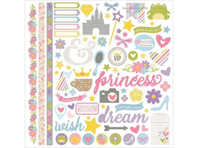 Enchanted Cardstock Stickers 12