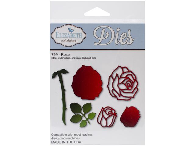 Elizabeth Craft Metal Die-Rose