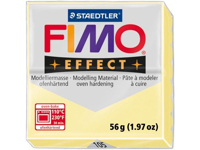 Fimo Effect Polymer Clay 2oz-Vanilla