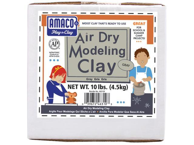 Air-Dry Modeling Clay 10lb-Gray