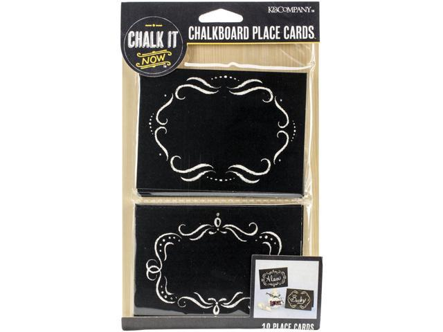Chalk It Now Chalkboard Place Cards-Ornate