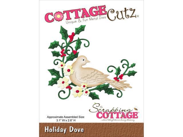 Cottagecutz Die-Holiday Dove