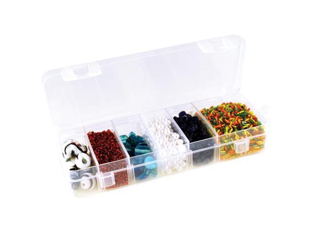 Organizer Box W/Lid & 6 Dividers-6.75