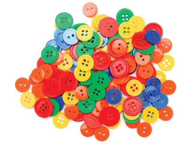 Favorite Findings Buttons 130/Pkg-Primary