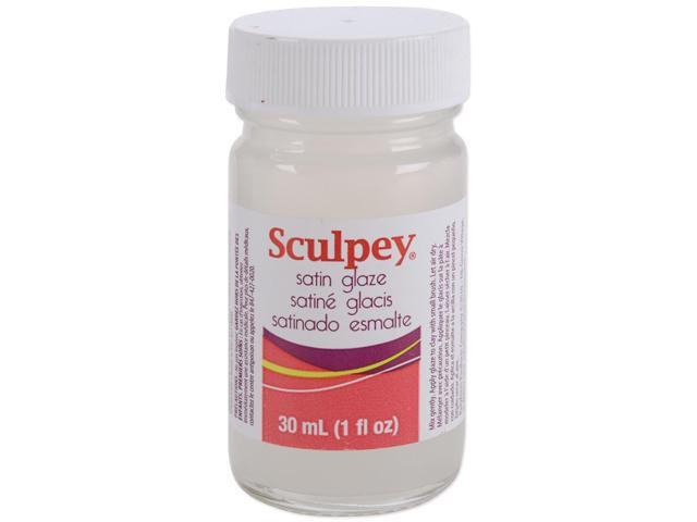 Sculpey Glaze 1oz-Satin