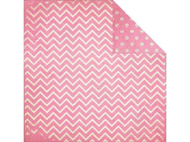 Bobunny Double Dot Chevron Double-Sided Cardstock 12