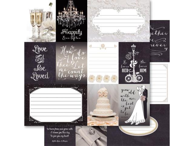 Bella! True Love Double-Sided Cardstock 12