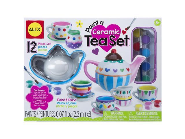 Paint A Ceramic Tea Set Kit-