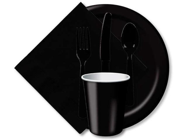 Heavy-Duty Cutlery 24/Pkg-Black Velvet
