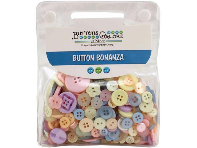 Buttons Galore Button Bonanza-Pastel