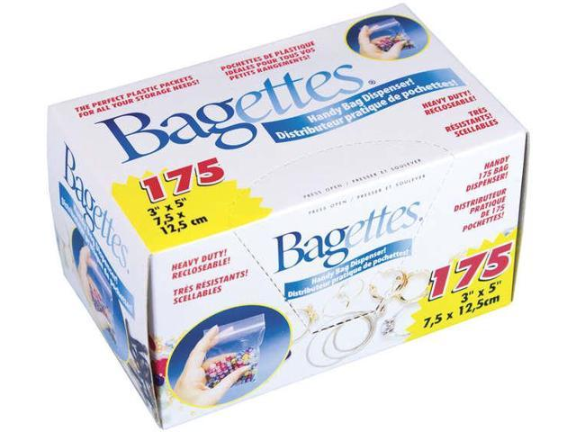 Bagettes Heavy-Duty Reclosable Bags 175/Pkg-3