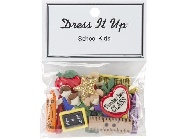 Dress It Up Embellishments-School Kids
