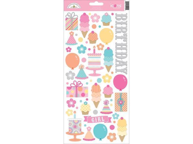 Sugar Shoppe Cardstock Scrapbooking Stickers 6