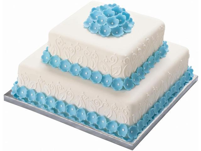 Silver Edge Cake Bases 14