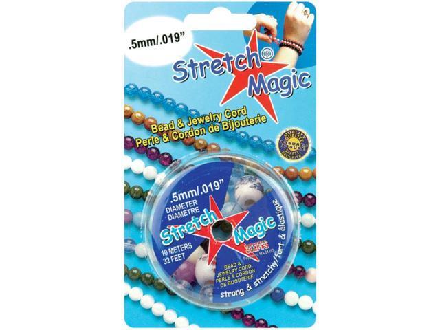 Stretch Magic Bead & Jewelry Cord .5mmX10m-Silver
