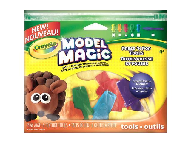 Crayola Model Magic Press 'N Pop Tools 6/Pkg-