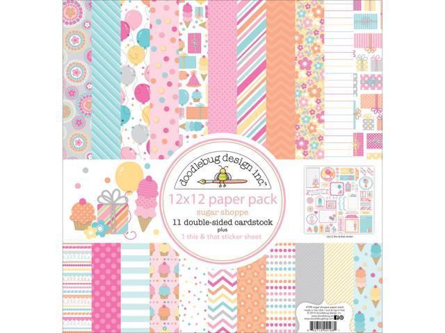 Sugar Shoppe Paper Pack 12