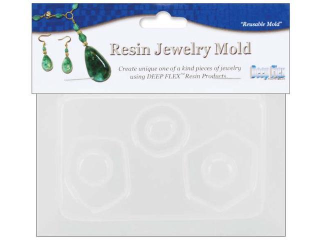 Resin Jewelry Reusable Plastic Mold 3.5