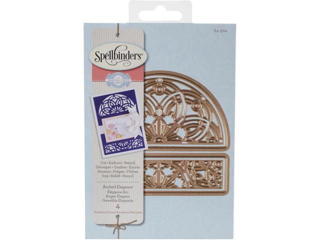 Spellbinders Designer Die-Arched Elegance By Becca Feeken