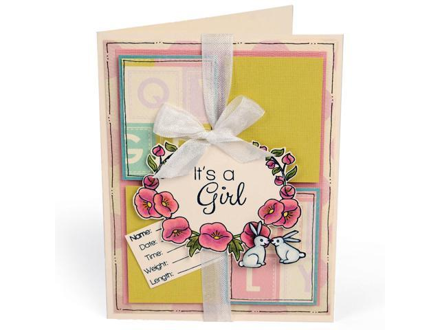 Sizzix Clear Stamps-Sweet Baby