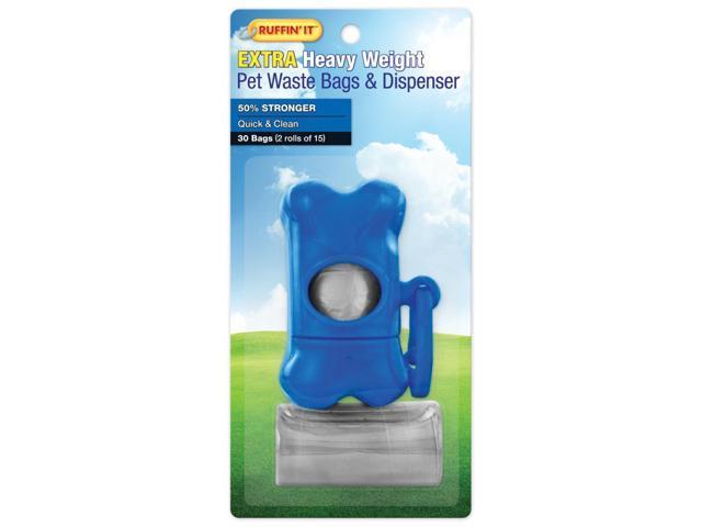 Waste Bag Dispenser W/2 15Ct Rolls-