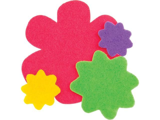 Feltables Shapes 36/Pkg-Flowers
