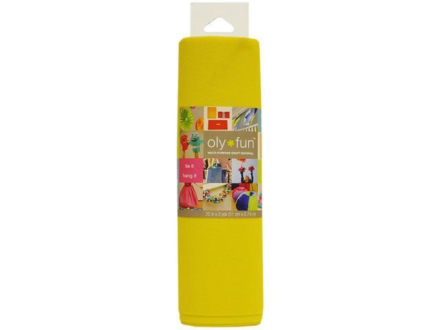 Fairfield LFGG-05 Oly Fun Multi-Purpose Craft Material 20'' Wide 3yd-Lemon Drop