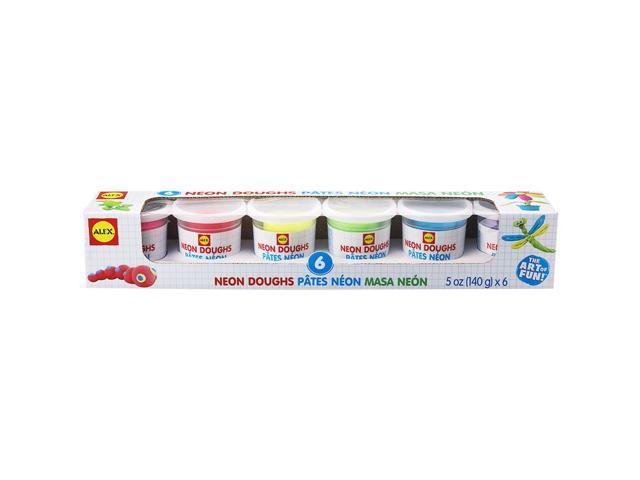 Dough 5oz 6/Pkg-Neon