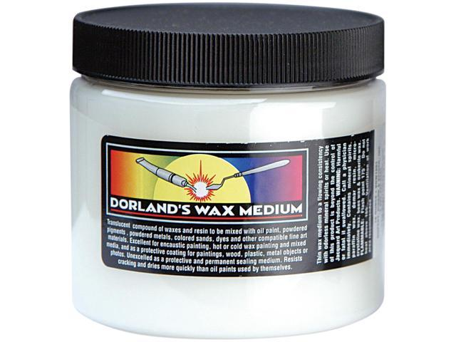 16 oz JACQUARD DORLAND'S WAX Fine Arts Medium Paint Dye