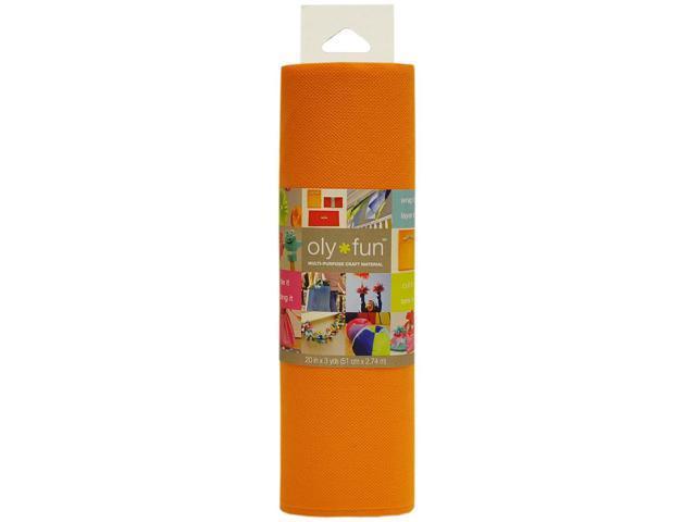 Fairfield LFGG-03 Oly Fun Multi-Purpose Craft Material 20'' Wide 3yd-Orange Crush