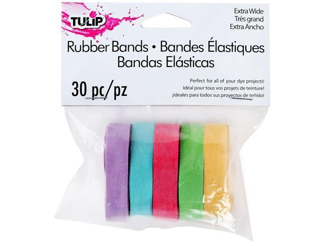 I Love To Create 31627 Tulip Wide Rubber Bands 30/Pkg-