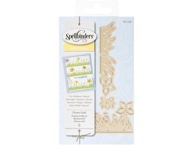 Spellbinders Shapeabilities Die D-Lites-Flower Field