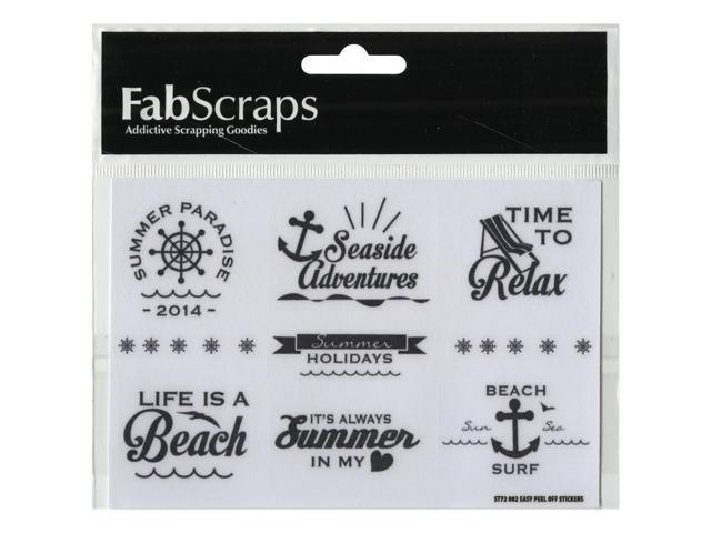 Beach Affair Vinyl Stickers 3.75