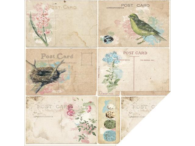 Garden Journal Double-Sided Cardstock 12