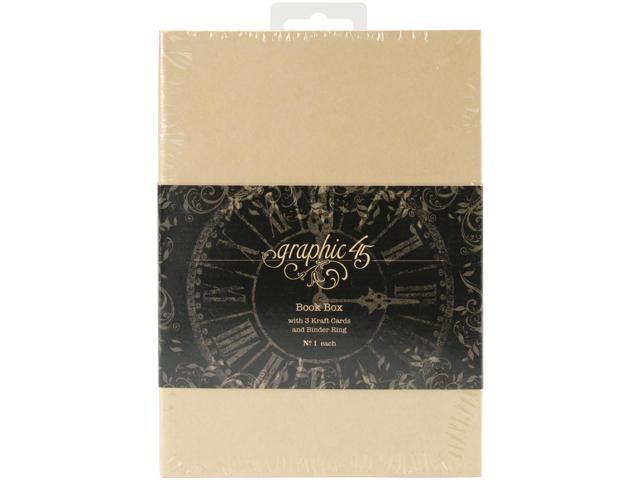 Staples Tag Album Book Box -Kraft