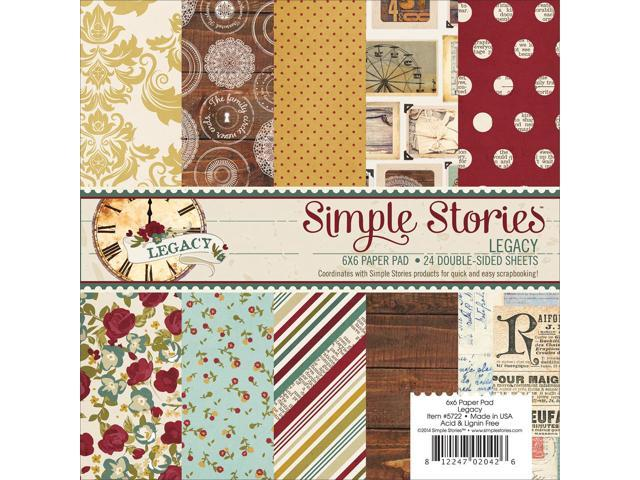 Simple Stories Paper Pad 6