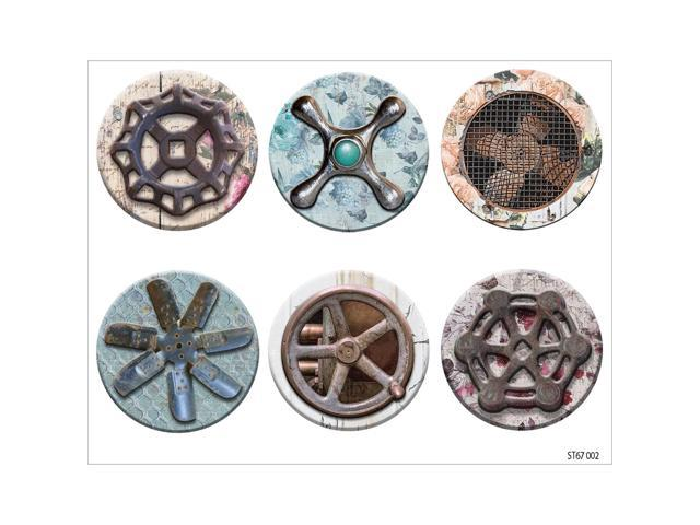 Industrial Chic Clear Stickers 4