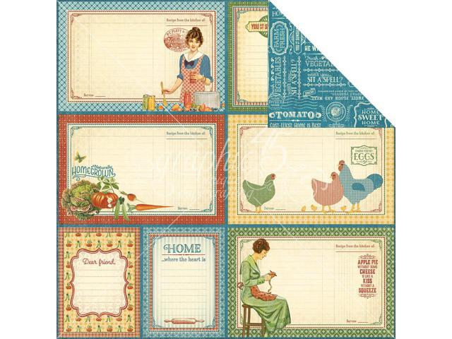 Home Sweet Home Double-Sided Cardstock 12