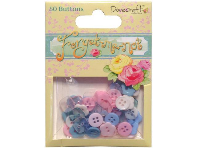 Forget-Me-Not Buttons-