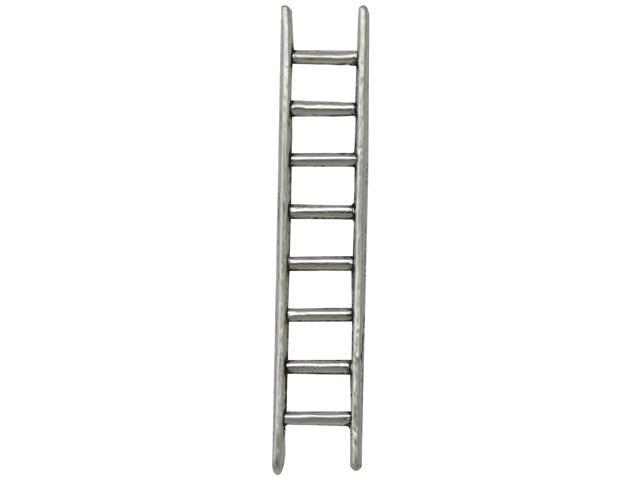 Silver Embellishments 15/Pkg-Ladder