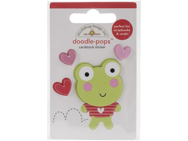 Lovebugs Doodle-Pops 3D Stickers-Leapfrog