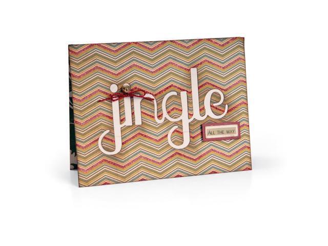 Sizzix Thinlits Die-Card W/Jingle Cut-Out 5.5