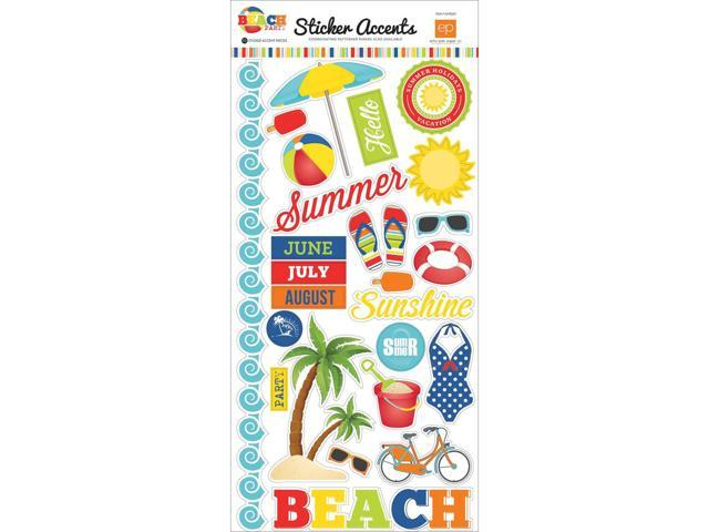 Beach Party Stickers 6