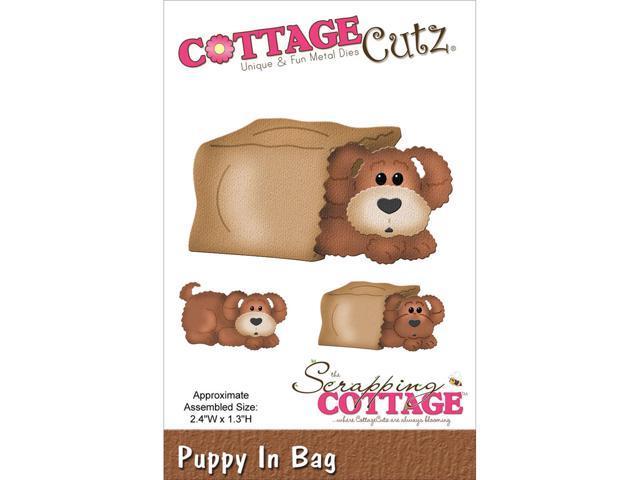 Cottagecutz Die-In The Woods Puppy In Bag